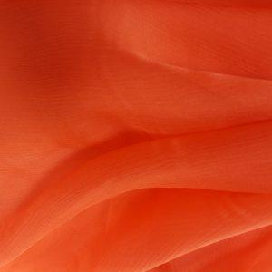 Corai -- Voal creponat (Muselina) din matase naturala-1237