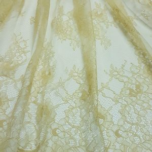 Dantela tip chantilly nude mustar-5548