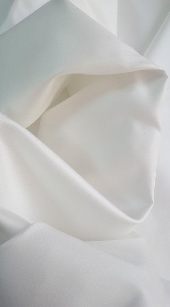 Mikado alb cu matase naturala