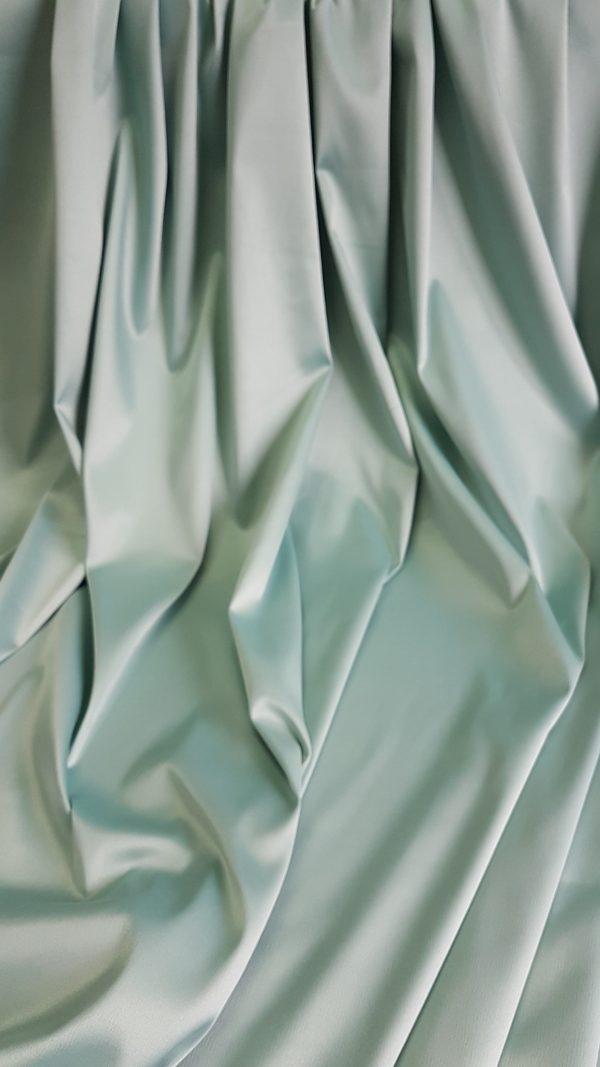 Tafta verde opalin cu elastan