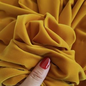 Catifea superioara galben mustar Korea