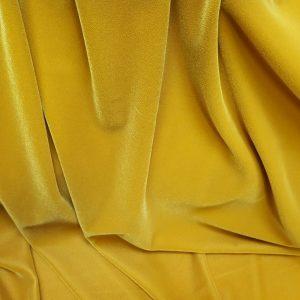 Catifea superioara galben mustar