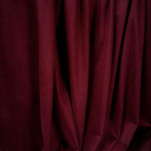 Catifea elastica rosu rubin