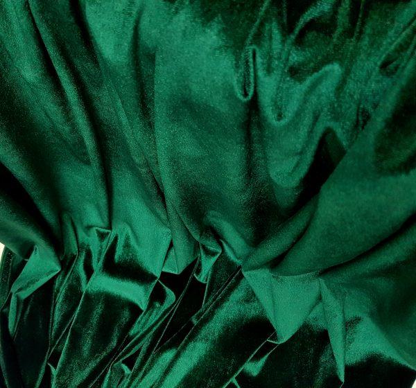 Catifea elastica verde imperial