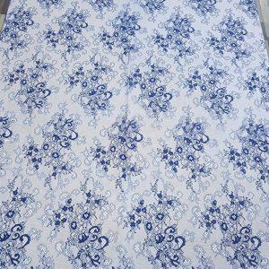 Dantela tip Chantilly bleumarin-5739