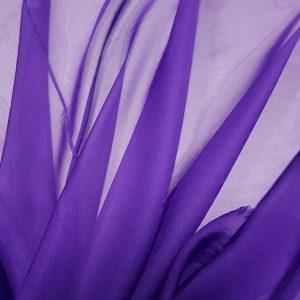 Ultra Violet -- Voal chiffon-0