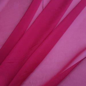 Rosu-bordo -- Voal chiffon-6222