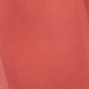 Rosu-caramiziu -- Voal chiffon-0
