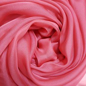 Roz-trandafiriu -- Voal chiffon-6205