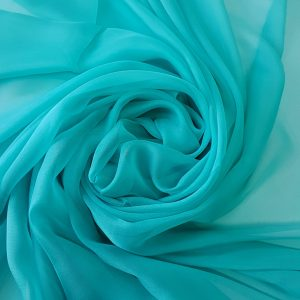 Turquoise -- Voal chiffon-6240