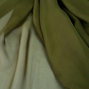Verde-avocado -- Voal chiffon-6295