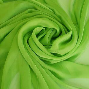Verde-fistic -- Voal chiffon-6214
