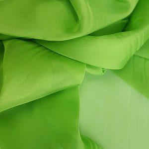 Verde-fistic -- Voal chiffon-6215