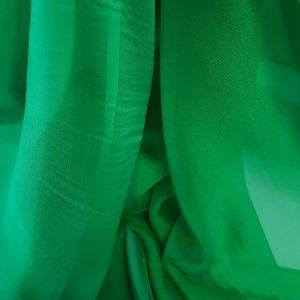 Verde-iarba -- Voal chiffon-6277