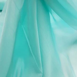 Verde-opalin -- Voal chiffon-6309