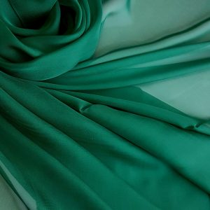 Verde-padure -- Voal chiffon-6218