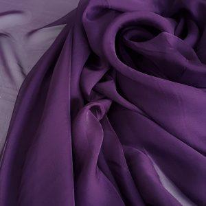 Violet-episcopal -- Voal chiffon-6314