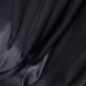 Negru -- Matase naturala uni-6791