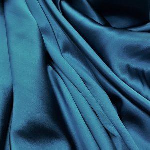 Turquoise-intens -- Matase naturala uni-6819