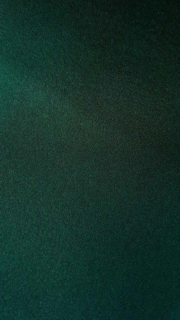 Verde-padure -- Matase naturala uni-0