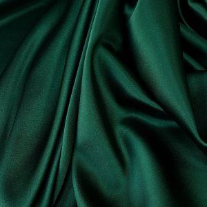 Verde-padure -- Matase naturala uni-6829