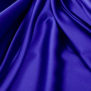 Albastru-royal -- Matase naturala uni-0