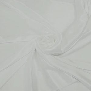 Matase naturala 100% alba uni fara elastan