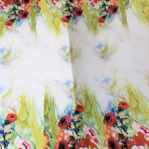 Tafta multicolora imprimata digital-9749
