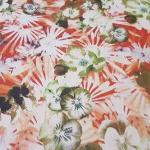 Voal cu imprimeu floral-11267