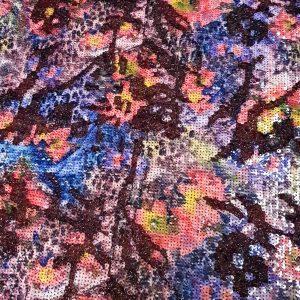 Micropaiete imprimate multicolor