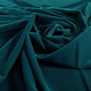 Catifea turquoise inchis Korea