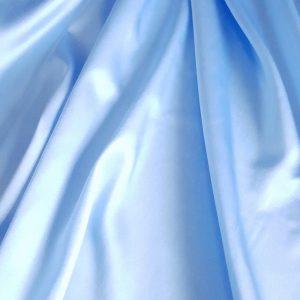 Bleu -- Matase naturala uni-18333
