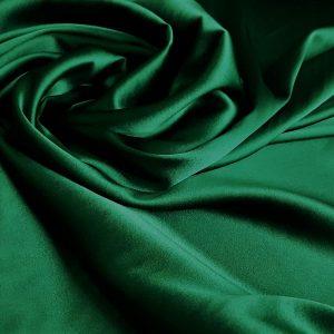 Verde-smarald -- Matase naturala uni-18344
