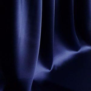 Bleumarin -- Matase naturala uni-0