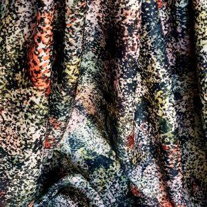 Stofa Franta subtire cu lana si fir metalic