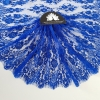 Dantela frantuzeasca albastru royal Jean Bracq