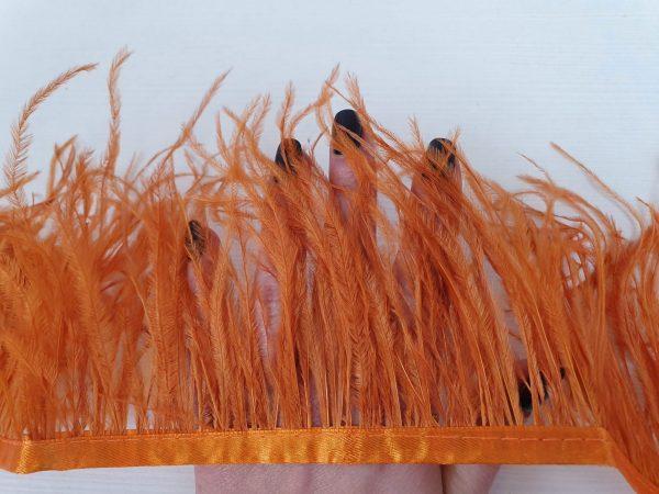 Benzi orange din fulgi de strut