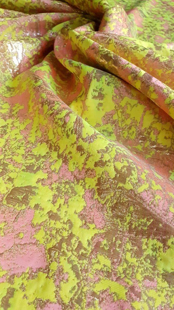 Jachard metalizat mix culori
