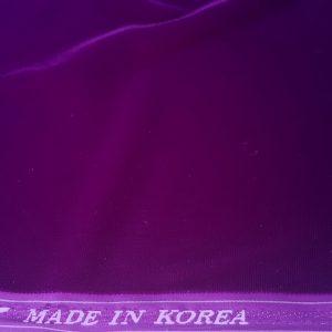 Catifea subtire elastan ultra violet-19655