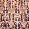Broderie couture negru opal lucrata 100 % manual