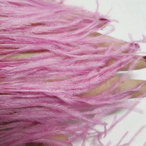 Benzi din fulgi de strut - roz drajeu-20657