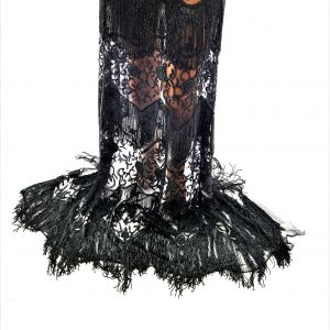 Broderie couture black lucrata 100 % manual