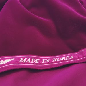 Catifea royala ciclam Korea