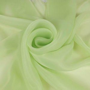 Organza verde pastel