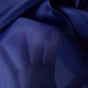 Organza albastru cerneala