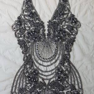 Panouri tip rochie, brodate 100 % manual-21596