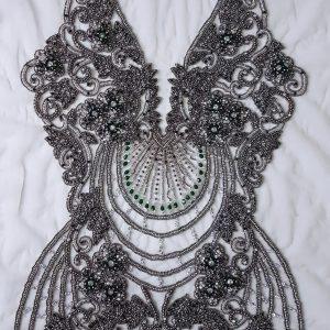 Panouri tip rochie, brodate 100 % manual-21561
