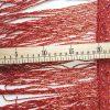 Bordura franjuri din margele- rosu rubin-21650