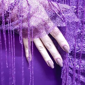 Broderie couture cu franjuri din margele-21507