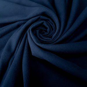 Stofa din lana bleumarin